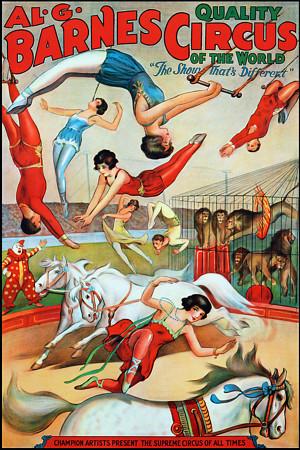 Al G. Barnes Circus, ca. 1900's