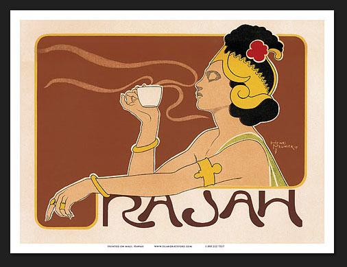 """Henri Meunier, """"Rajah Coffee"""""""