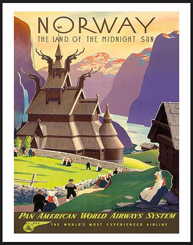 Norway, Land of the Midnight Sun; Ivor Gull, ca. 1930's