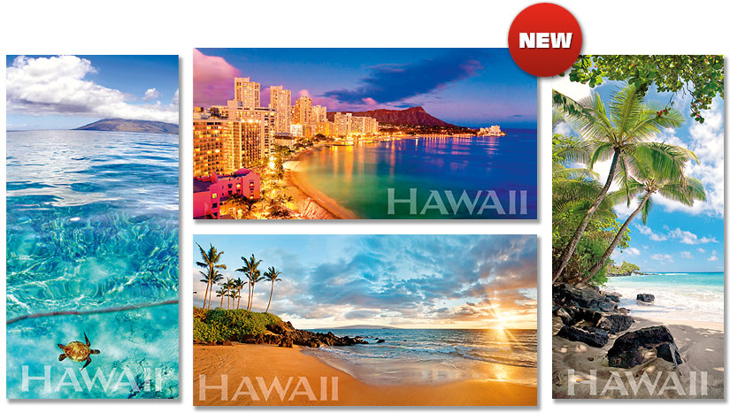 Hawaiian Panoramic Magnets