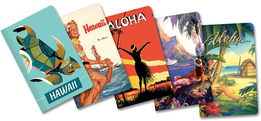 Hawaiian Mini Notebooks