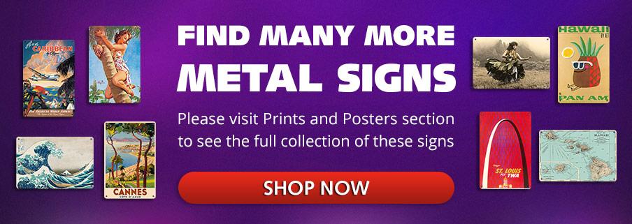 Find More Metal Signs