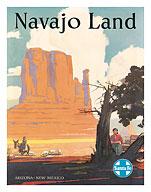 16x24 1924 Santa Fe Back East Xcursions Vintage Style Travel Poster