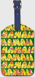 Hawaii - Hawaiian Leatherette Luggage Tags