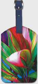 Nice Curves - Hawaiian Leatherette Luggage Tags