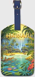 Aloha Hawaii - Hawaiian Leatherette Luggage Tags