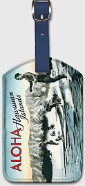 Surf Riders - Hawaiian Leatherette Luggage Tags