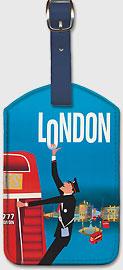 Pan Am London - Leatherette Luggage Tags