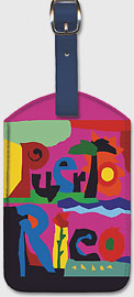 Puerto Rico - Endless Summer - American Airlines - Leatherette Luggage Tags