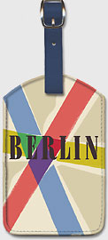 Berlin, Germany - Leatherette Luggage Tags
