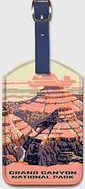 Grand Canyon National Park - Arizona - Leatherette Luggage Tags