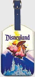 Disneyland Dumbo - Leatherette Luggage Tags