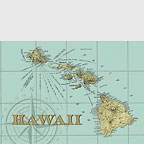 Map Of Hawaii - Hawaii Magnet