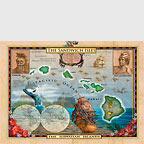 Old World Map of Hawaii - Hawaii Magnet