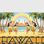 Rainbow Over Hawaii - Hawaii Magnet