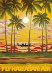 Fly Hawaiian Air - Hawaii Magnet