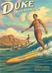 Duke Kahanamoku - Hawaii Magnet