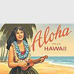 Aloha from Hawaii - Hawaii Magnet