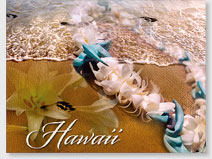 Fragrant Memories - Hawaiian 'Alohi Magnet - Glitter Embellished