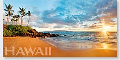 Wailea Dreams - Hawaii Panoramic Magnet