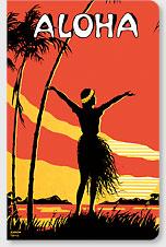 Aloha Oe - Hawaii Mini Notebook