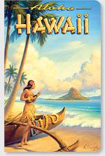 Aloha Hawaii - Hawaii Mini Notebook