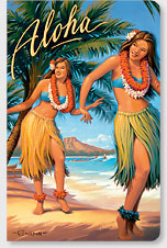 Aloha - Hawaii Mini Notebook