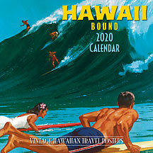 Hawaii Bound - 2020 Deluxe Hawaiian Wall Calendar