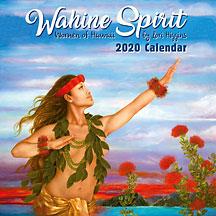 Wahine Spirit - 2020 Deluxe Hawaiian Wall Calendar