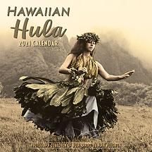 Hawaiian Hula - 2021 Deluxe Hawaiian Wall Calendar