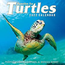 Hawaiian Sea Turtles - 2022 Deluxe Hawaiian Wall Calendar