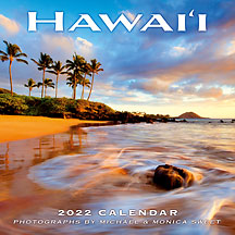 Hawaii Landscapes - 2022 Deluxe Hawaiian Wall Calendar