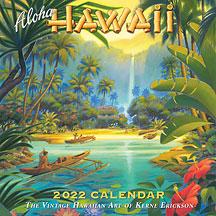 Aloha Hawaii - 2022 Deluxe Hawaiian Wall Calendar