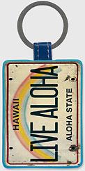 LiveAloha - Hawaiian Leatherette Keychains